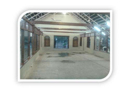 INSIDE FLOORING OF THE CHRUCH IN PCC